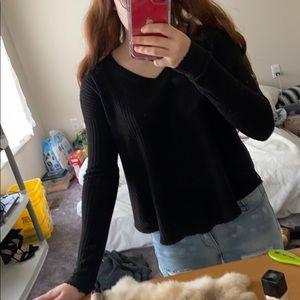 Black soft sweater by mudd